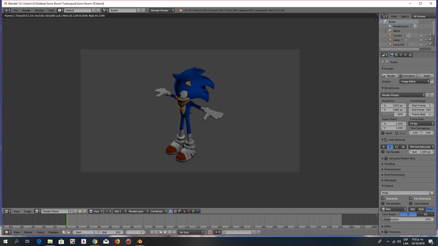 sega sonic hedgehog 3D