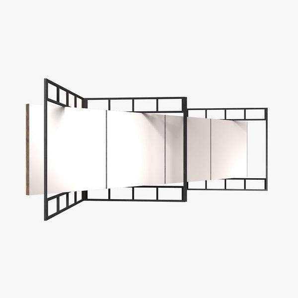exhibition interior 3D