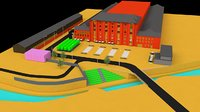 granary square london 3D model