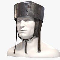 pot helmet medieval helm max