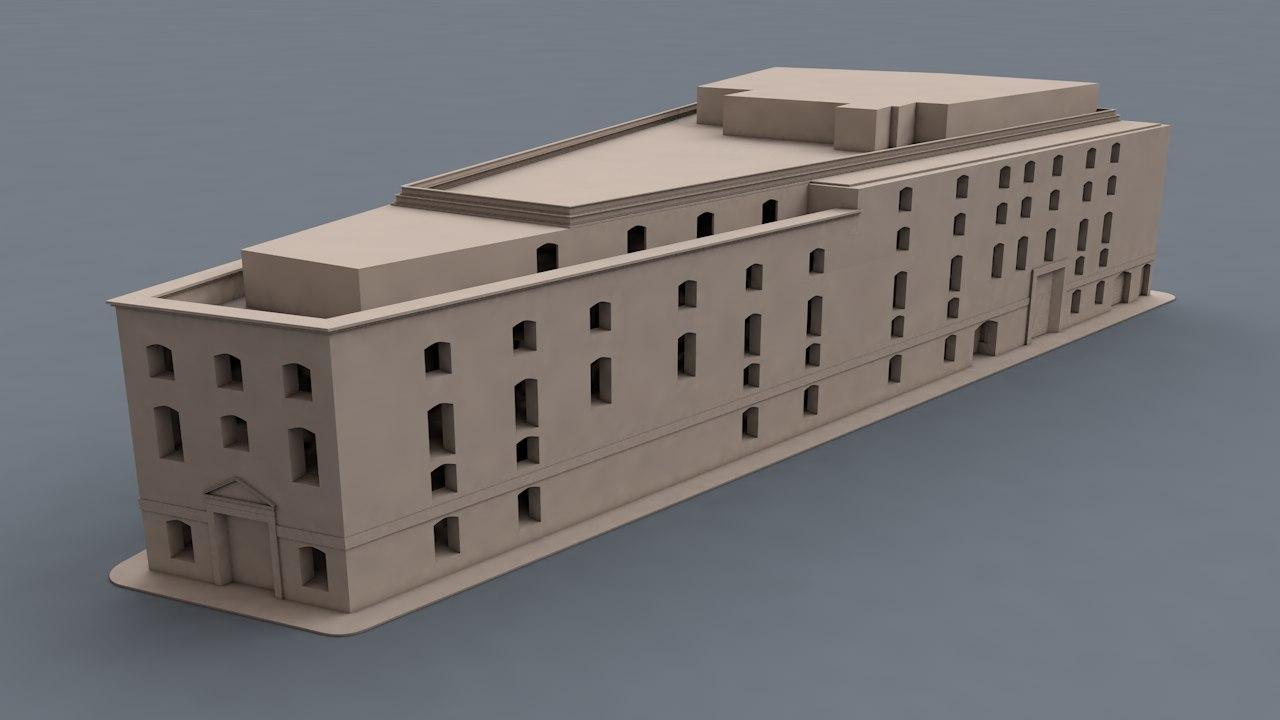 building seven dials london model