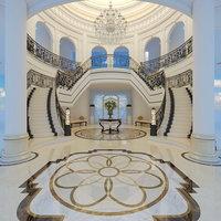 3D model classical entrance