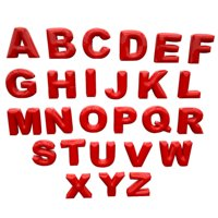 3D inflate alphabet model