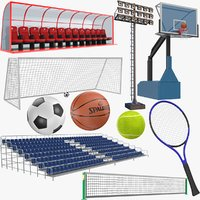 sports modeled ball 3D model