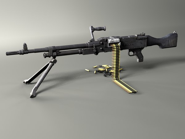 machine gun 3D