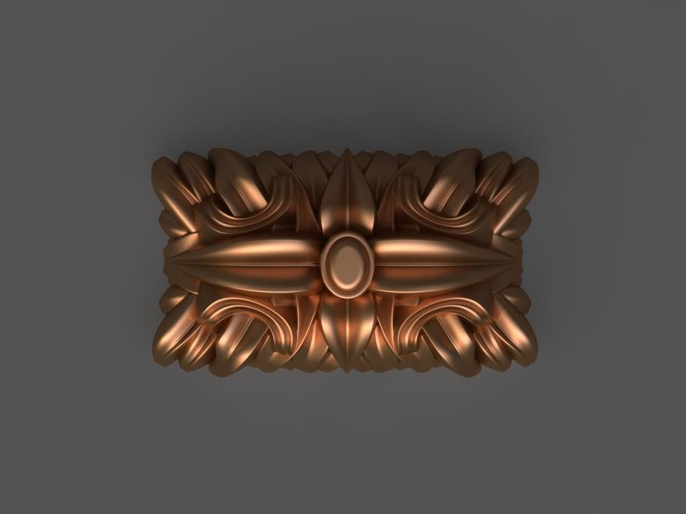 ergonomic mold hand 3D model