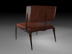 chair holly hunt 3D model