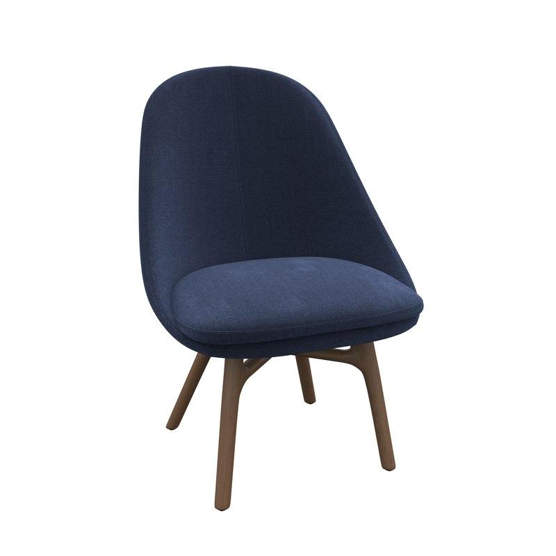 3D chair neri hu model