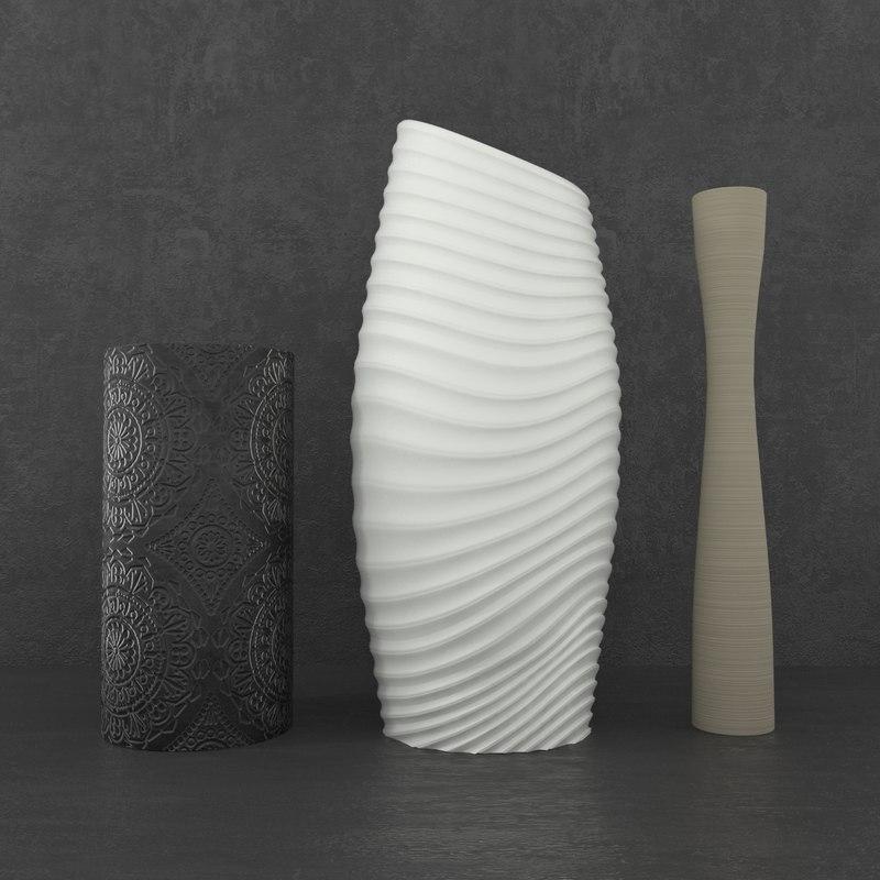 vases 3D model