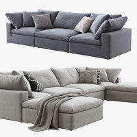 Restoration Hardware Cloud Modular Sofa