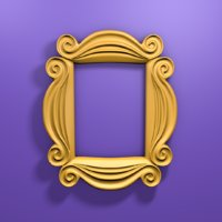 friends peephole frame 3D