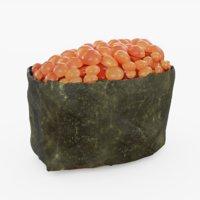 3D sushi ikura