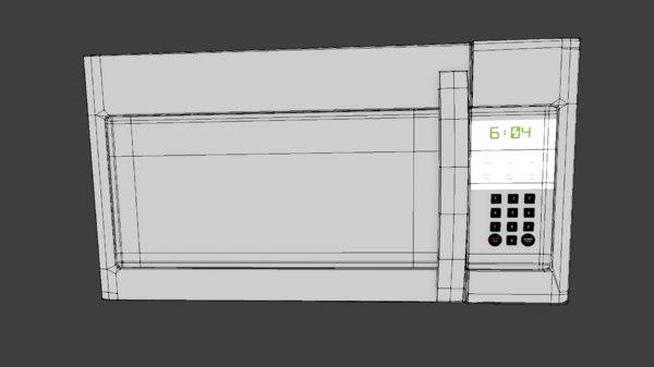 microwave kitchen appliance model