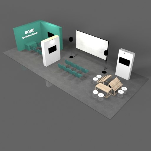 Exhibition Booth Animation : Game booth exhibition design gaming in turkey