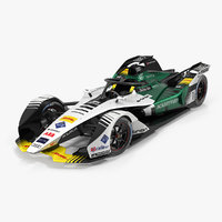 3D audi e-tron fe05 formula