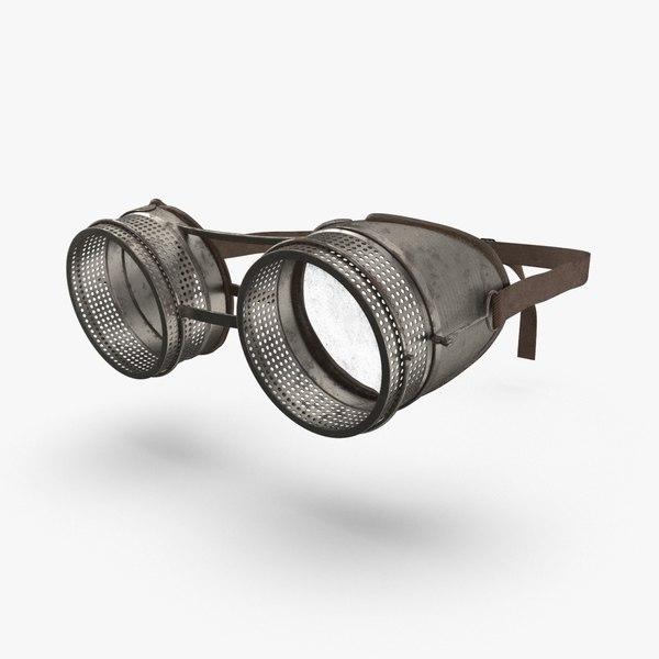 goggles-02---worn 3D model