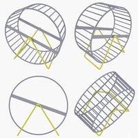 3D model hamster wheel