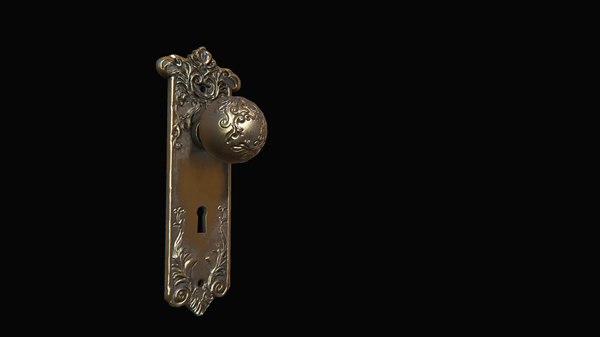 3D door knob