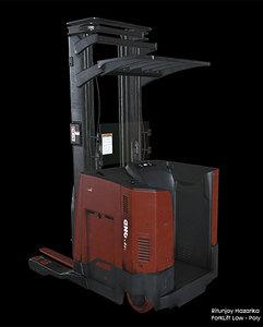 forklift lift 3D model