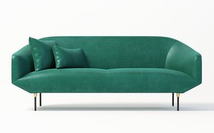 bale sofa industry west 3D