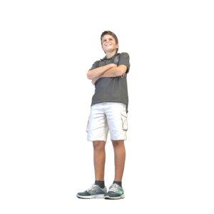 kid standing model