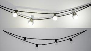 furniture october wall lamp 3D