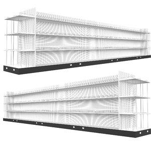 3D retail shelf