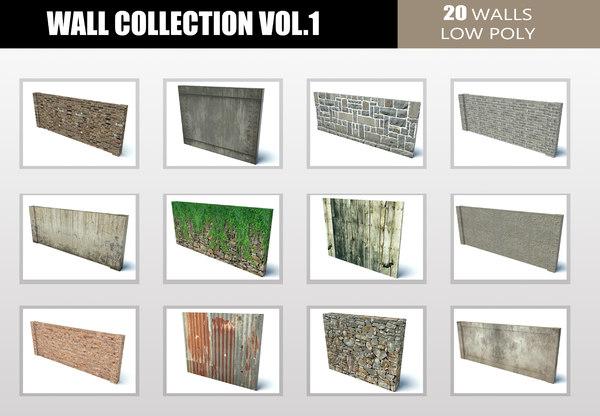 wall 1 3D model