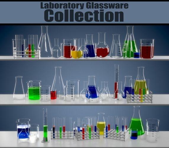 3D laboratory equipment model