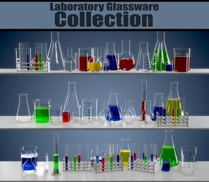 3D laboratory equipment model