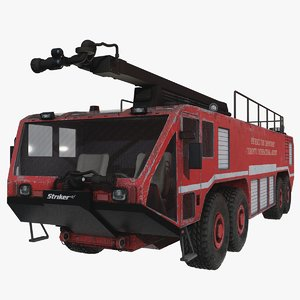 3D oshkosh striker 4500 model
