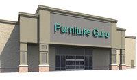 exterior retail store 3D model