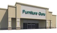 exterior retail store 3D