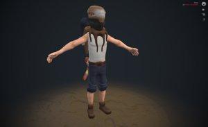 3D character trece