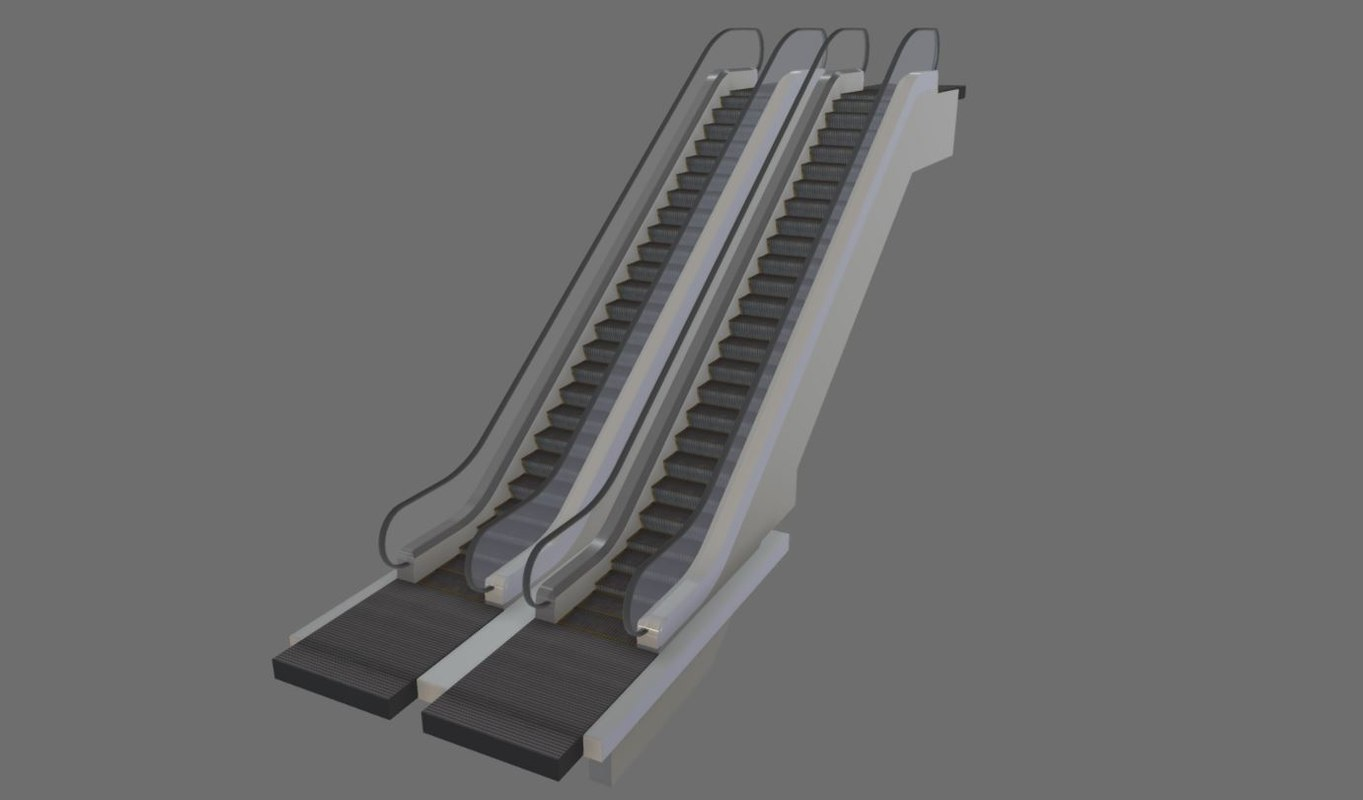 Animated Escalator