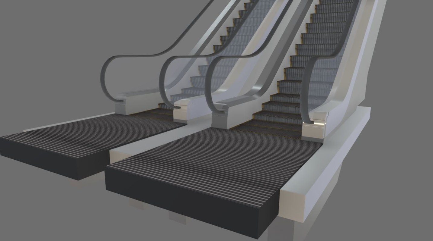 Animated Escalator