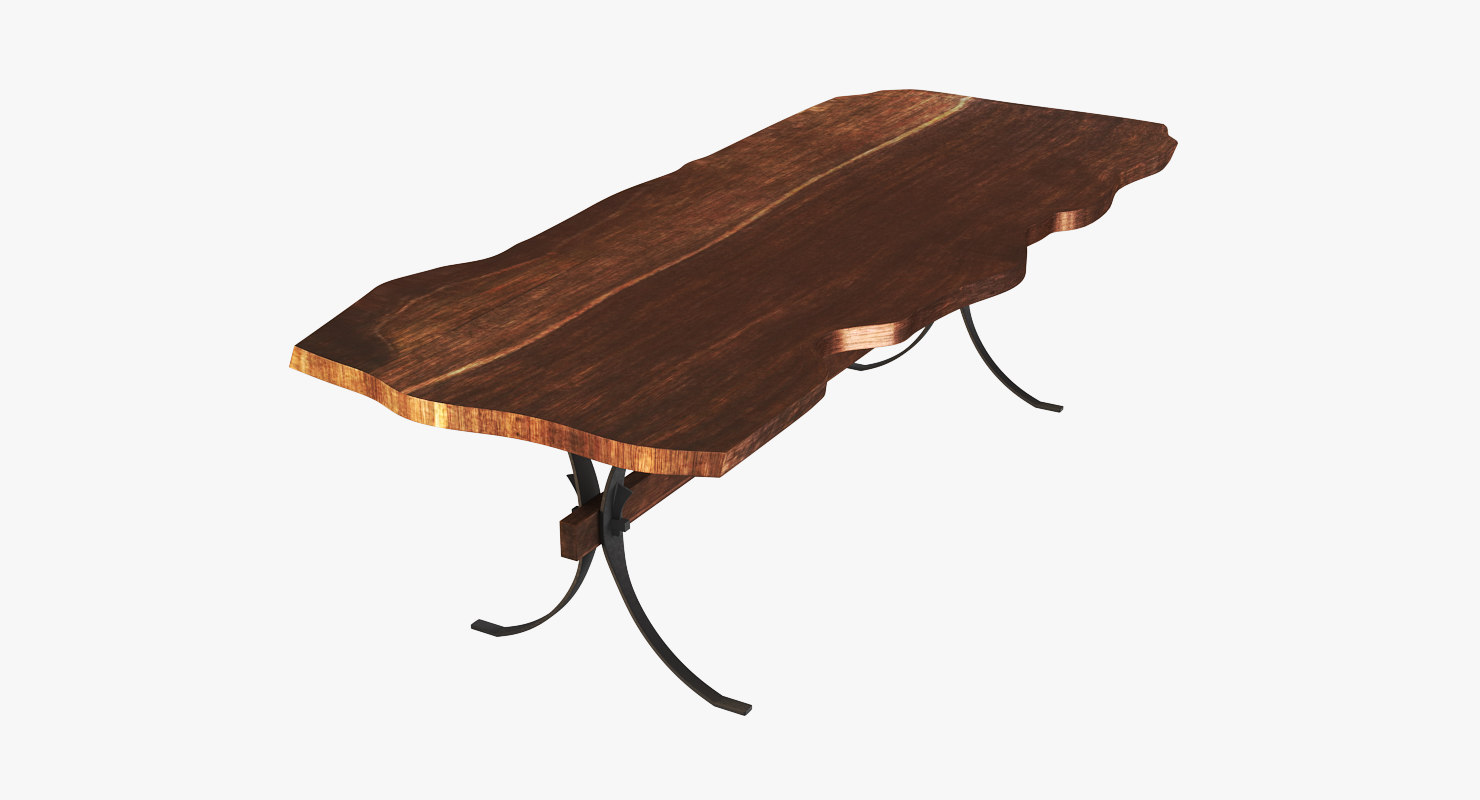 raw table 3D model