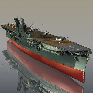 japanese junyo 3D model