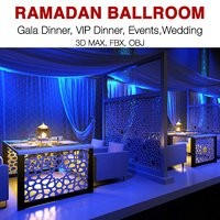 ramadan events functions 3D model