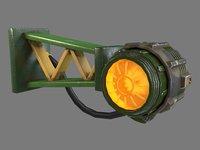 military lamp - 3D