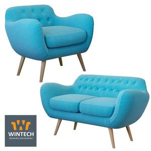 3D model indigo wintech