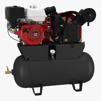 3D air compressor engine