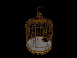 bird cage 3D