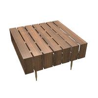 3D horizon coffee table