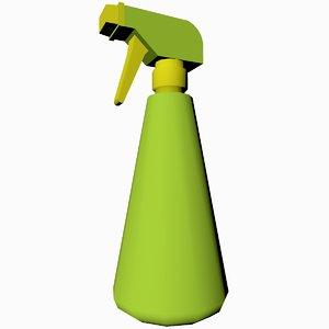 3D spray bottle