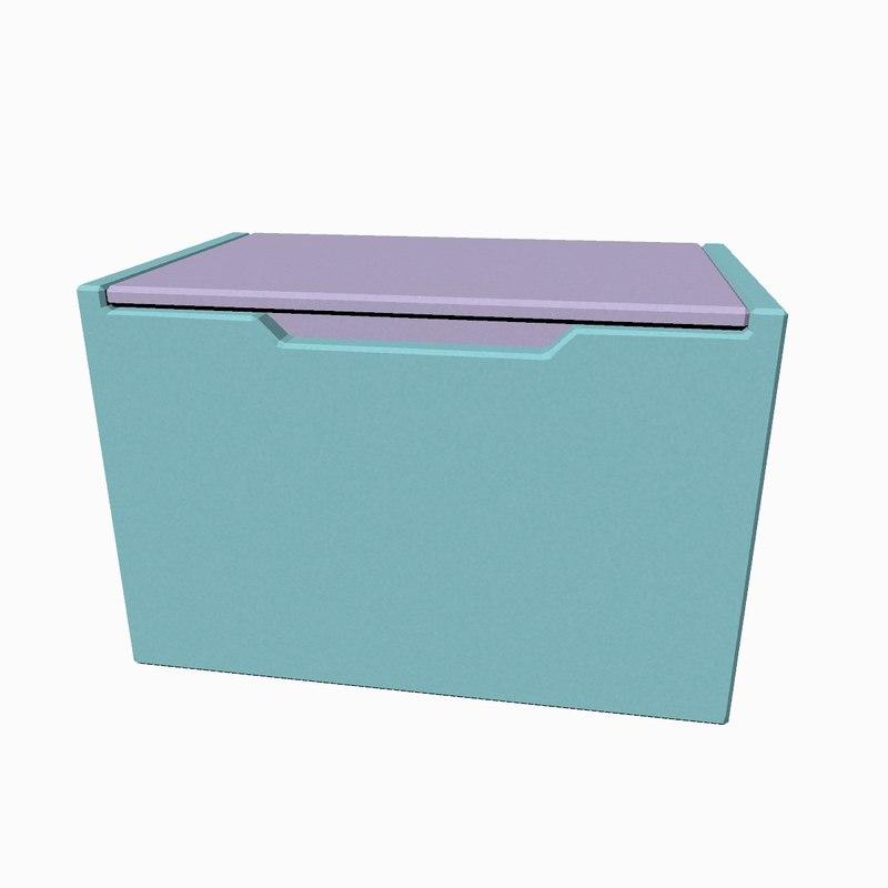 3D toy box model