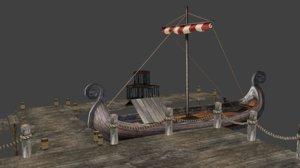 port viking 3D model