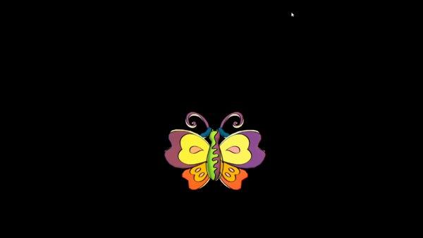 3D butterfly 2015