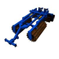 3D chopping roller