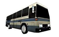 3D passenger bus model